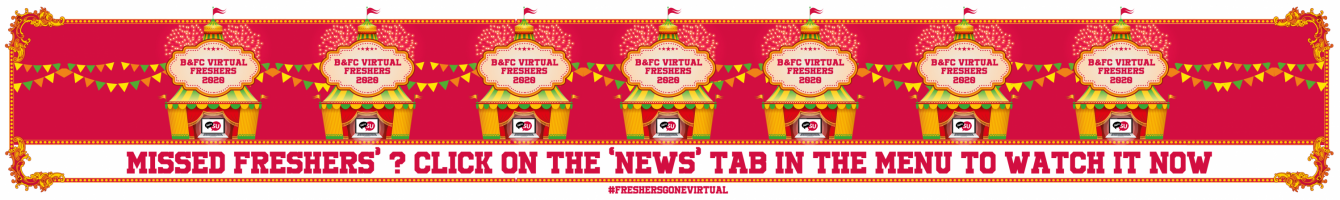BFC Virtual Freshers Replay
